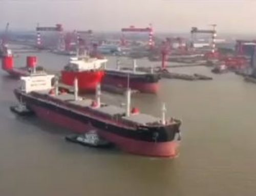 "MV ""MSXT CATHY"" was recently delivered from Nantong Xinagyu Shipyard"