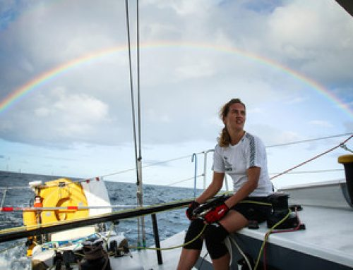 API Marine is supporting Irina Gracheva in the largest solo sailing transatlantic race MINI-TRANSAT